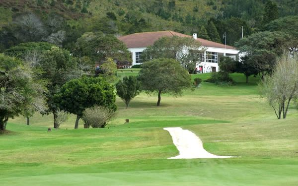 Plett Country Club clubhouse