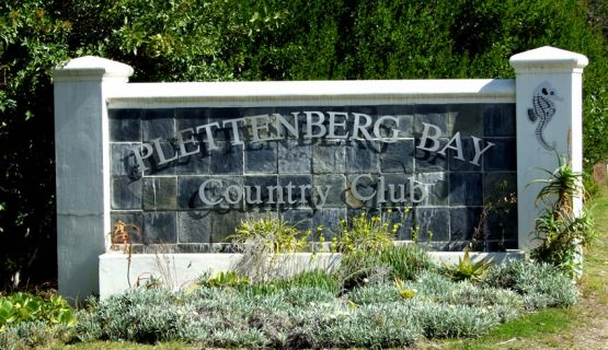 Plett Country Club entrance